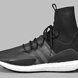 adidas - Ultra Boost Mid - Black/White?