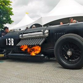 PACKARD-BENTLEY - 2563 CUBIC INCH FLAME THROWER