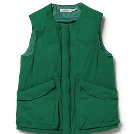 nonnative - Trooper Down Vest Cotton Weather Cloth