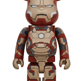 MEDICOM TOY - BE@RBRICK IRON MAN MARK XLII (42) 1000%