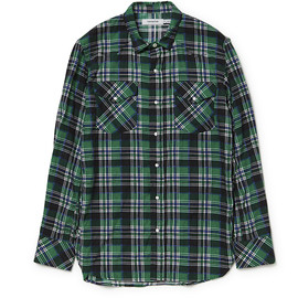 nonnative - RANCHER SHIRT COTTON NEL CHECK
