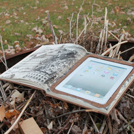 ReAuthored - iPad Book Case