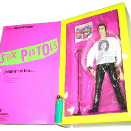 MEDICOM TOY - Johnny Rotten  12inch figure