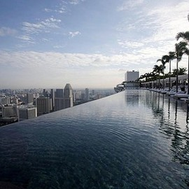 Marina Bay Sands Hotel - pool