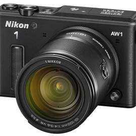 Nikon - Nikon 1 AW1 - Underwater Mirrorless Camera (Black)