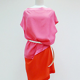 JEAN PAUL KNOTT - Bicolor Dress -2013 s/s-