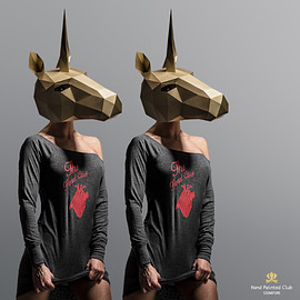 Wintercroft Mask - Unicorn Mask