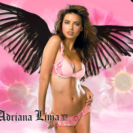 Adriana Lima - Black Angel