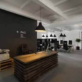 Morpho Studio - Recycled furniture, Pride & Glory Interactive new office, Krakow