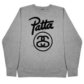 Stussy, Patta - Link Crew GY - Heather Grey