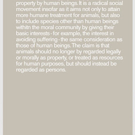 Humans by Mike Mills - Manifesto04 Gray Poster