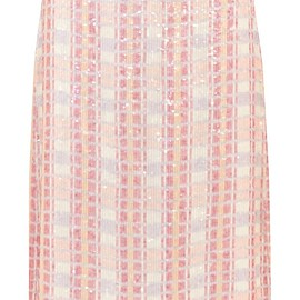 J.Crew - Collection sequined silk-georgette midi skirt