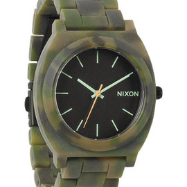 Nixon - The Time Teller Acetate - Matte Black / Camo