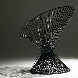 Mathias Bengtsson - Spun chair carbon fiber