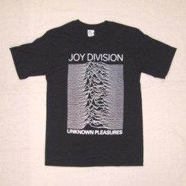 JOY DIVISION / UNKNOWN PLEASURES / T-Shirts Tシャツ ジョイ・デヴィジョン