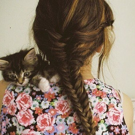 flower/Cat/hair style♡