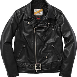 Supreme, UNDERCOVER, Schott - Perfecto Leather Jacket
