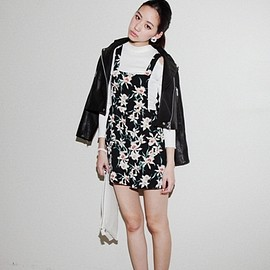 moussy - FLOWER SALOPETTE F