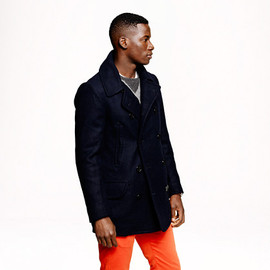 J.CREW - Dock peacoat with Thinsulate®