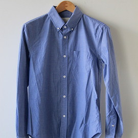 BAND OF OUTSIDERS - INDIGO FINE CHAMBRAY SHIRT