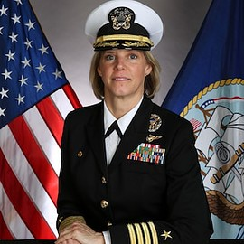 Capt. Amy Bauernschmidt - The first Female CO f. USS Abraham Lincoln (CVN 72)