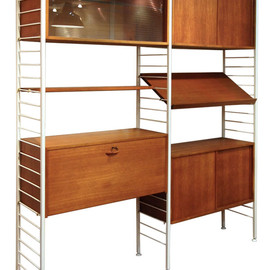 ラダラックス - Ladderax white frame Cabinet(wide type)