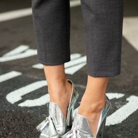 ALEXANDER WANG - shoes/silver