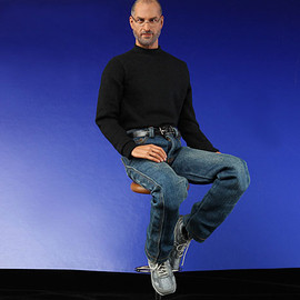 """in icons - Steve Jobs 12"""" Collectible Figure"""