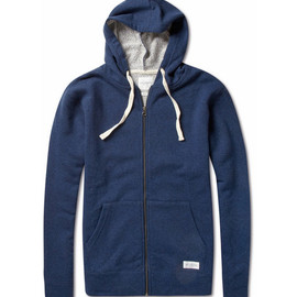 SATURDAYS SURF NYC - Cotton and Wool-Blend Jersey Hoodie