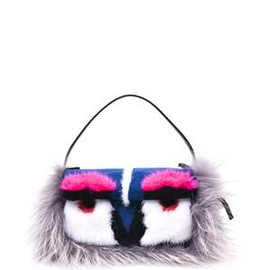 Fendi - Mini monster Baguette bag
