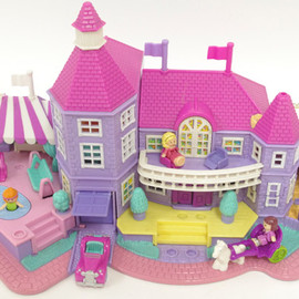 polly pocket - magical mansion