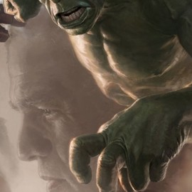 MERVEL - Hulk SDCC 2011 exclusive concept art poster