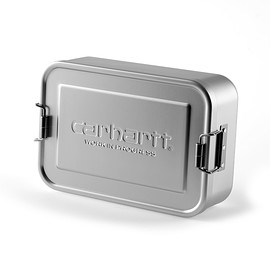 Carhartt - ALUMINIUM LUNCH BOX  - Silver