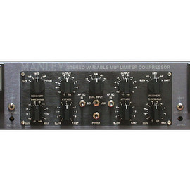 Manley - Stereo Variable Mu Limiter Compressor