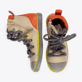 Stella McCartney Kids - Marshall hiking boots with zip