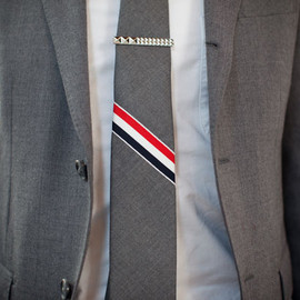 Thom Browne - Tie for Fashion Night Out Tokyo