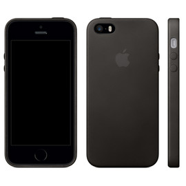 「apple / iPhone 5s Space Gray 64GB」&「apple / iPhone 5s Case Black」 - iPhone 5s Space Gray 64GB & iPhone 5s Case Black