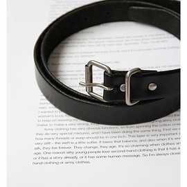 COMME des GARCONS - Leather Belt