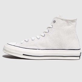 CONVERSE - CONVERSE CT70 white suede