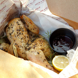 DOWN THE STAIRS - Herb Roasted Chicken