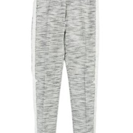 3.1 Phillip Lim - 3.1 Phillip Lim WOMEN / notch detail cropped pencil trouser / グレー