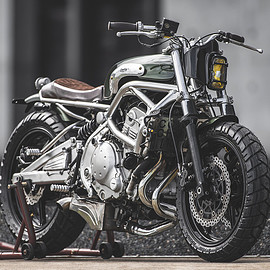 Kawasaki - ER-6F by Cowboy's Chopper
