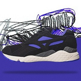 "MIZUNO - MIZUNO MONDO CONTOROL ""PURPLE SYRUP"" ""mita sneakers"" ""LIMITED EDITION for KAZOKU"""