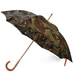 LONDON UNDERCOVER - British Woodland City Gent Camouflage Unbrella