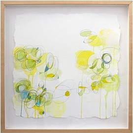 Sarah Irvin - Archive, acrylic and carbon transfer on paper