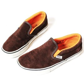 Vans - Slip-On in Brown Suede