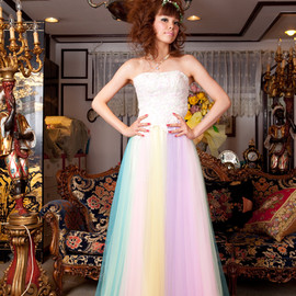 THE HANY WEDDING - rainbow dess