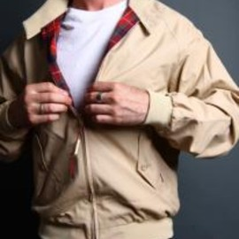 BARACUTA バラクータ - Baracuta G9 Harrington Jacket - Natural Cream バラクータ G9