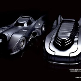 Hot Toys - BATMAN 1/6 BATMOBILE