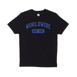 HUF - WORLDWIDE SPORT TEE (Black)